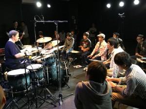 russ miller drum set sonix hamamatsu hal-sonic