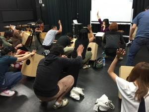仙道さおり カホン 教室 ソニックス 増田 浜松