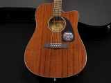 Fender CD-60CE All Mahogany with Case