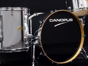 CANOPUS Birch Custom Order Chrome Drum Set