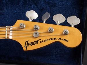 グレコ ベース 日本製 フジゲン FGN 富士弦 フジゲン楽器 japan vintage ビンテージ 国産 オールド OLD プレベ precision bass プレシジョンベース