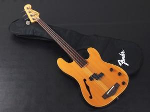 フェンダー ジャパン thinline TN pb Precision Bass プレシジョン fretless フレットレス ベース シンライン Acoustic  semi full エレアコ セミアコ フルアコ アコースティックベース アコベ Hollow ホロー 日本製 国産