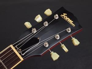 ソニック ギター LUMTRIC COMPANY ラムトリックカンパニー momose モモセ 国産 japan 日本製 PGM moon ムーン チェリー 1961 61 reissue リイシュー タイプ bacchus バッカス ソニックス sonic