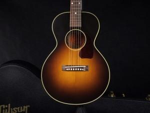 ギブソン L-1 Small アーロ ガスリー ウッディ Woody Arlo Guthrie limited edition monthly LTD short scale ショートスケール エレアコ リリック ヴィンテージ ビンテージ サンバースト VS Blues ブルース ミニ スモール 初心者 入門 女性 子供 キッズ Parlor guitar パーラー ギター LG-1