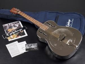 Epiphone エピフォン リゾネイター メタルボディ metal body ドブロ ナショナル national Blues Bluegrass ブルース ブルーグラス スライド slide guitar