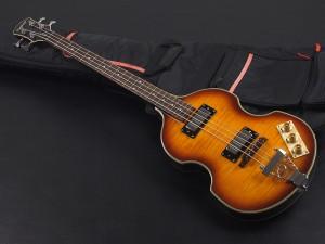 エピフォン hofner ヘフナー ホフナー ignition イグニッション violin バイオリン HCT500 vintage 64 union flag ビギナー セミアコベース ポール マッカートニー paul