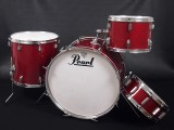 "u29946 Pearl Dyna-max BD22"" TT13"" FT16"" SD14"" Red Sparkle"