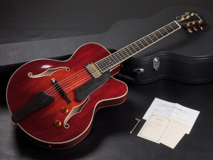 フルアコ セミアコ Ibanez godin 5th avenue full acoustic aco semi ES-175 Gibson AR-175CE A.Red jazz ジャズ L-4