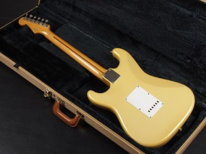 Fender Japan ST57-140YM PYW / Pearl Yellow White