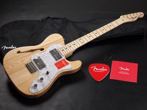 fender Made in Japan Traditional '70s Telecaster Thinline Natural
