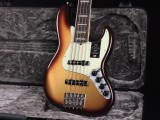 アメリカン ウルトラ ジャズベース Elite Deluxe vintage standard STD 5st 5弦 RW active JB 62 モカバースト made in USA アメリカ製