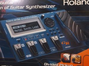 ローランド boss ボス GR-55 gr-20 gr-3 ギターシンセサイザー GK-3