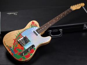 ジミーペイジ テレキャスター paint ペイント 1959 1958 59 58 レッドツェッペリン Led Zeppelin Vintage Dragon ドラゴン Custom カスタム 50s