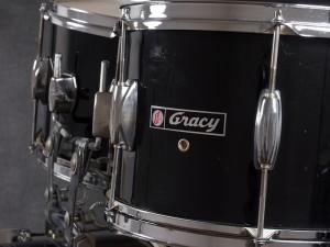 グレイシー グレッチ ドラムセット レールマウント ダブルタム