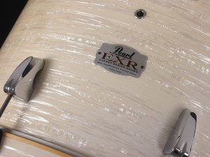 パール EXL Export ドラムセット 入門用 22x18 バスドラム レトロ オイスター ヴィンテージ