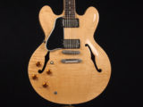 ES335 FIG LH AN NAT 左用 レフトハンド レフティ Lefty メンフィス Nashville Custom shop 1958 1959 1963 58 59 63 ナチュラル