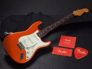 ストラトキャスター トラディショナル Hyblid 日本製 ジャパン MIJ japan Player vintage st62 TX US 1960 1962 orange オレンジ タンジェリン