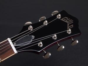 セミアコ Gibson Bigsby ビグスビー スターファイヤー ES-335 345 チェリー レッド CHR Heritage ヘリテイジ epiphone sheraton Riviera