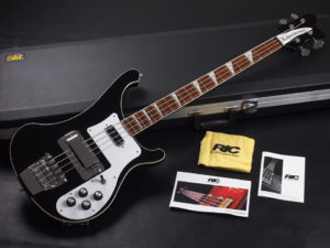 ビートルズ BEATLES Paul McCartney ポール マッカートニー Chris Squire motorhead lemmy レミー 4001 4003s Black BLK 黒 BK