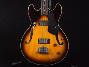 セミアコ ベース クラシック hofner ヘフナー アリア プロ 2 初心者 入門 ビギナー 女子 女性 ブルース ジャズ Blues Jazz semi aco bass sunburst