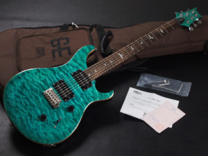 PRS ポール リード スミス カスタム standard santana S2 AQ アクア les paul LTD 限定 Edition CTM Blue Green emerald エメラルド