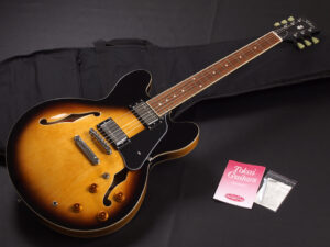 ES-335 ES78 110 335 eric clapton Made in Japan 東海楽器 japan vintage セミアコ トーカイ Sunburst VS Epiphone Dot