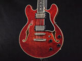 セミアコ Ibanez semi acoustic aco ES-335 ES-339 ES-336 Gibson Antique Red jazz Blues small 小型 mini T-386 T-186