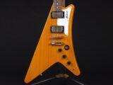 コリーナ Korina Limba Gibson Futura 1958 Limited 限定 ギブソン リンバ ウッド フライングV エクスプローラー フューチュラ しゃもじ