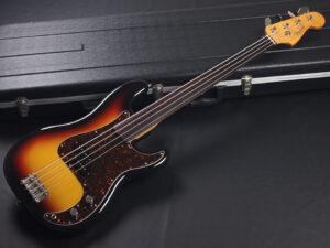 62-53 Made in japan 日本製フェンジャパ フジゲン Precision プレシジョン プレベ フレットレス Fretless