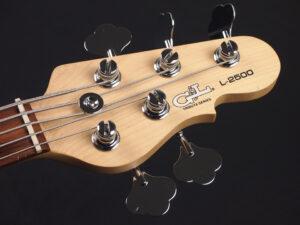 ジーエル ジーアンドエル トリビュート L-2000 L2000 L2500 5st 5弦 Fender フェンダー JIRO ジロー アクティブ MUSICMAN STINGRAY スティングレイ ミュージックマン