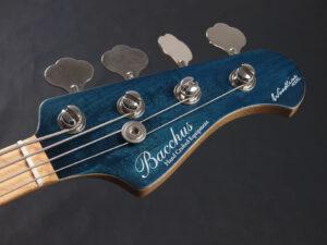 ウッドライン Handmade momose Deviser Global WJB 417 standard plus WL 青 Blue ブルー ジャズベ Jazzbass Fender フェンダー