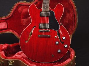 セミアコ Dot Reissue Jazz Blues semi acoustic nashville memphis ナッシュビル メンフィス 60s チェリー Custom shop 1958 58