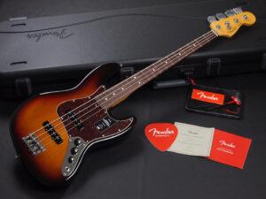アメリカン プロフィッショナル 2 ジャズベース 3TS 3CS tone カラー サンバースト vintage standard アメプロ elite USA STD Ultra original