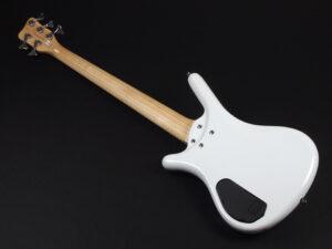 コルベット HH Active アクティブ spector thumb fortless streamer ibanez SR 初心者 入門 小型 女子 女性 白 ホワイト white 5弦 5st