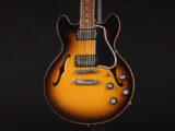 セミアコ Jazz Blues nashville memphis CS ES-335 CS-336 thin body 小型 Small semi aco Vintage sunburst C/S