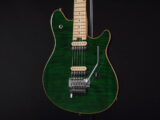 Musicnam EVH Kramer HP2 Axis Edward Van Halen Model USA Special Standard Signature 5150 緑 グリーン