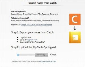Catch notes 終了ということで代替(乗り換え、移行)サービス(アプリ)を探してみた