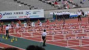 2013国体 少年A女子100H決勝